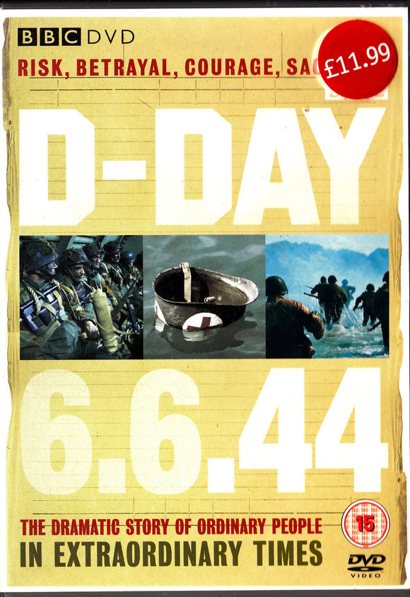 D-DAY 6.6.44 -  BBC DVD