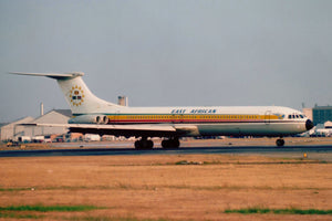 East African Airways Vickers VC10 5X-VJ  6 x 4 Print EAA005