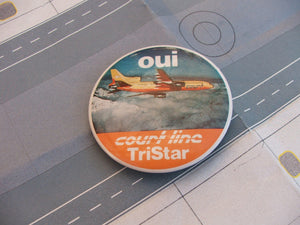 COURT LINE AVIATION ' oui -L1011 Tristar ' badge