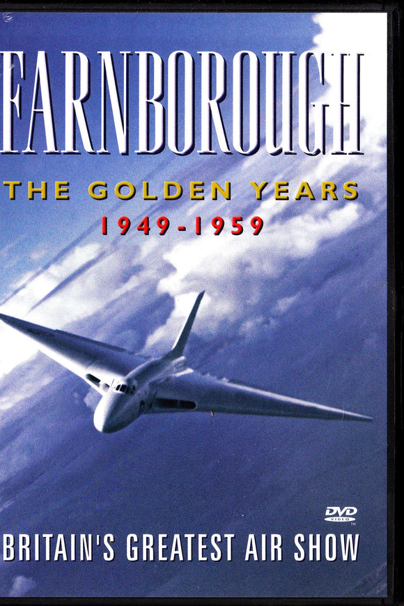 FARNBOROUGH Airshow 1949-1959 The Golden Years- Aircraft DVD