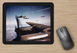 Fighter 32 RAF AVRO LANCASTER IN FORMATION AIRCRAFT   -  MOUSE MAT