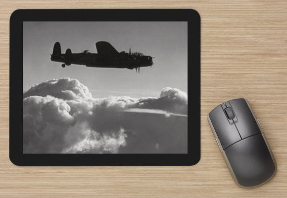 Fighter 34 RAF LANCASTER BOMBER ALONE -  MOUSE MAT