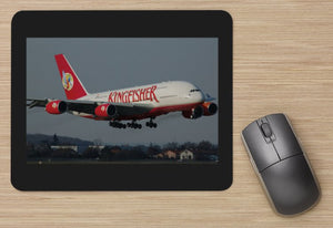 Kingfisher Airbus A380 - MOUSE MAT