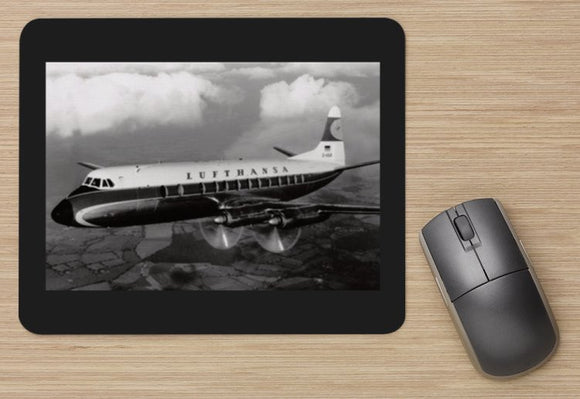 Lufthansa Vickers Viscount  - MOUSE MAT