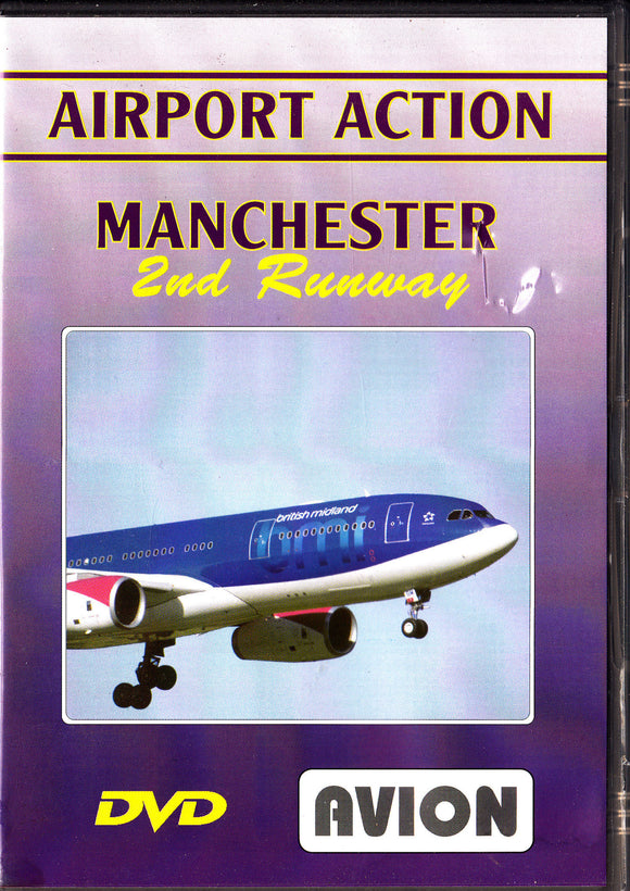 MANCHESTER AIRPORT - Airport Action 2nd Runway - Aircraft DVD