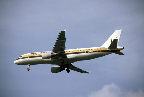 Monarch Airlines Airbus  A320 G-MONX - ORIGINAL SLIDE