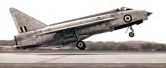 RAF English Electric Lightning Sqn 118 - 6 x 4 Print RAF011