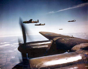 RAF Avro Lancaster Bombers in formation WWII Fridge Magnet