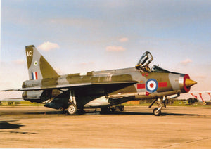 RAF English Electric Lightning - 6 x 4 Print RAF012