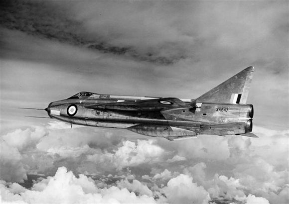 RAF English Electric Lightning XA847  - 6 x 4 Print RAF014