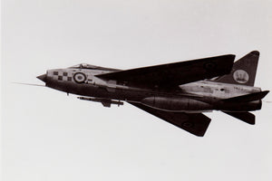 RAF English Electric Lightning XM173  - 6 x 4 Print RAF020