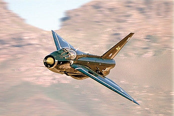 RAF English Electric Lightning ZU-DBD - 6 x 4 Print RAF018