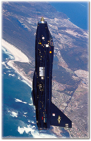 RAF English Electric Lightning ZU-DBD - 6 x 4 Print RAF017