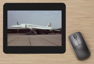 Singapore Airlines Concorde  aircraft  - MOUSE MAT