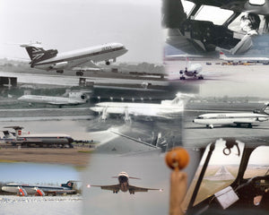 HAWKER SIDDELEY TRIDENT AIRCRAFT -  A4 Collage Print - TRI001