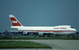 TWA Trans World Airlines Boeing 747 N93119 - TW800 Crash off NYC  -  6 x 4 Print TW003