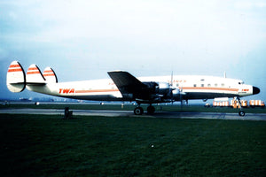 TWA Trans World Airlines Lockheed Constellation -  6 x 4 Print TW002