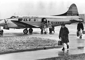 CHANNEL AIRWAYS DH DOVE G-ANVU - 6 x 4 Print