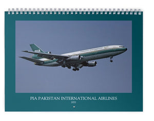 PIA PAKISTAN INTERNATIONAL AIRLINES - 2021 WALL CALENDAR