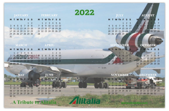 VINTAGE AIRCRAFT IN COLOUR 2020 WALL CALENDAR (Limited Edition)