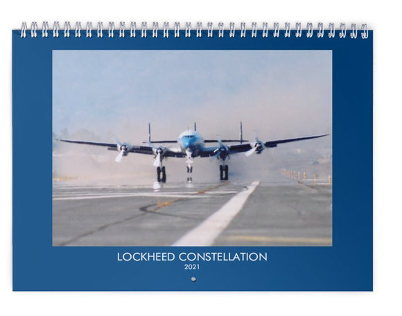 Lockheed Constellation 2021 WALL CALENDAR BOAC TWA