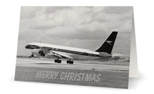 BOAC BOEING 707 Christmas Card (Limited Edition) -