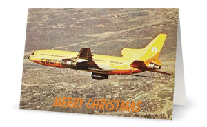 COURT LINE L1011 TRISTAR G-BAAA Christmas Card (Limited Edition) -