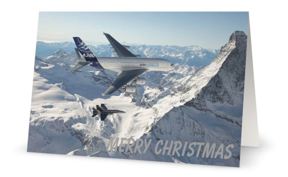Airbus A380 Christmas Card (Limited Edition) -