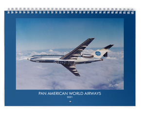 PAN AM PAN AMERICAN WORLD AIRWAYS - 2021 WALL CALENDAR