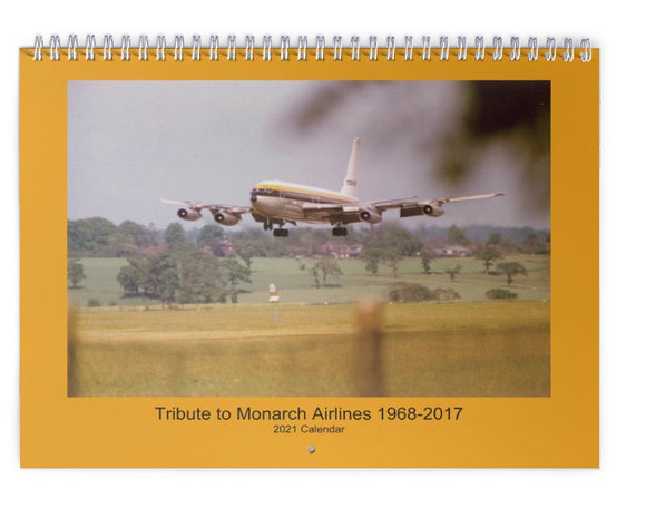 MONARCH AIRLINES - 2021 WALL CALENDAR