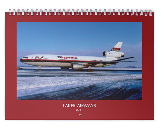 LAKER AIRWAYS - 2021 WALL CALENDAR