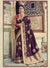 Purple Silk Banarasi Saree with Anmol Colour Jari Work - VANYA