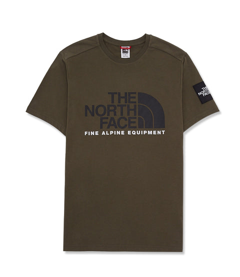 THE NORTH FACE M SS FINE ALP TEE
