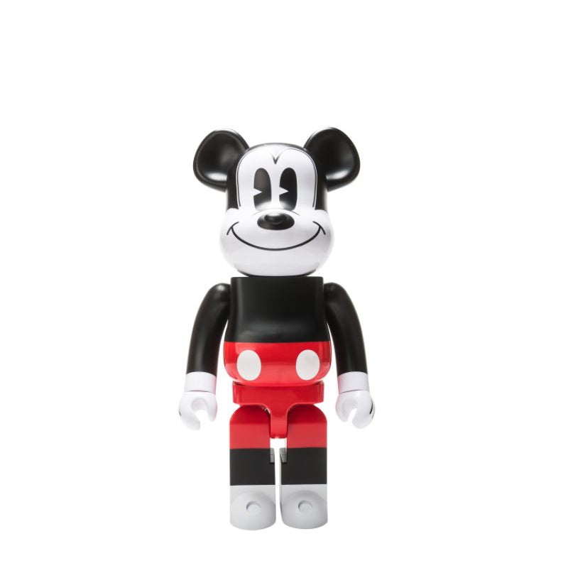 BEARBRICK 1000% MICKEY MOUSE RED & WHITE 2020