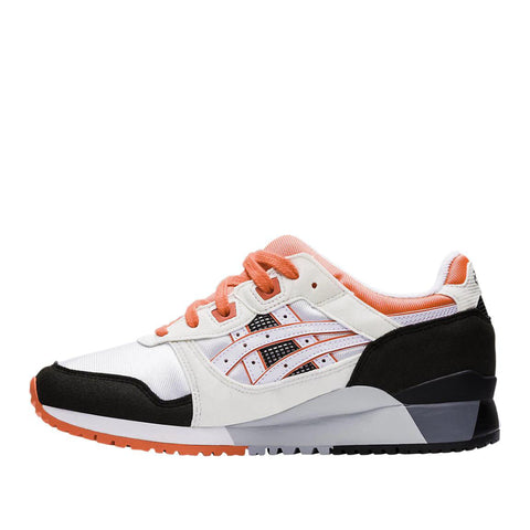ASICS GEL-LYTE III - WHITE/FLASH CORAL