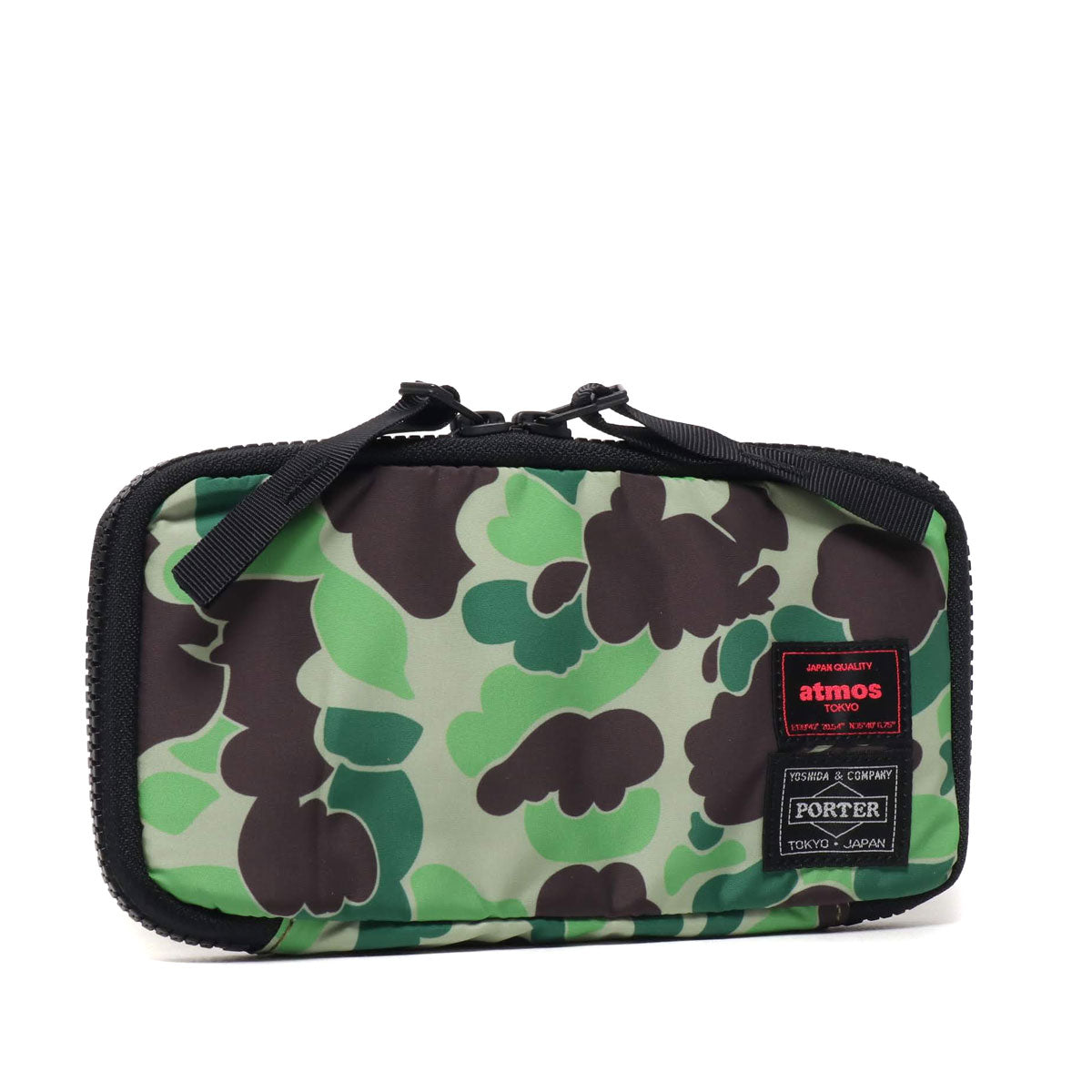 PORTER X ATMOS DUCK CAMO LONG WALLET