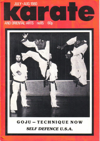 KARATE & ORIENTAL ARTS July - August 1980 No.85