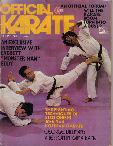 OFFICIAL KARATE January 1975