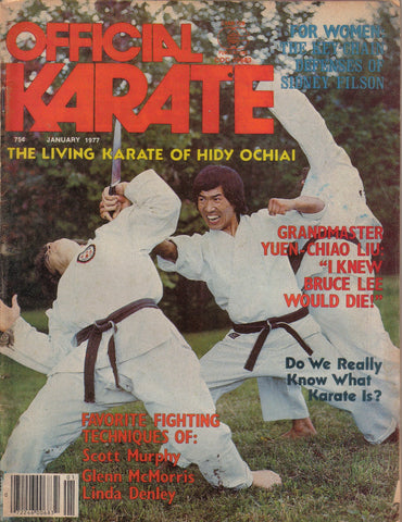 OFFICIAL KARATE January 1977