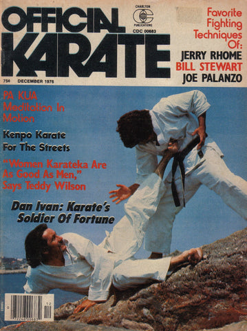 OFFICIAL KARATE December 1976