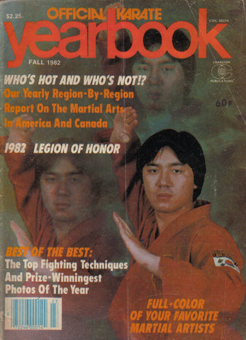 OFFICIAL KARATE YEARBOOK FALL 1982