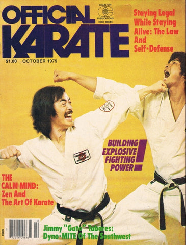 OFFICIAL KARATE October 1979