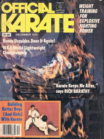 OFFICIAL KARATE December 1979