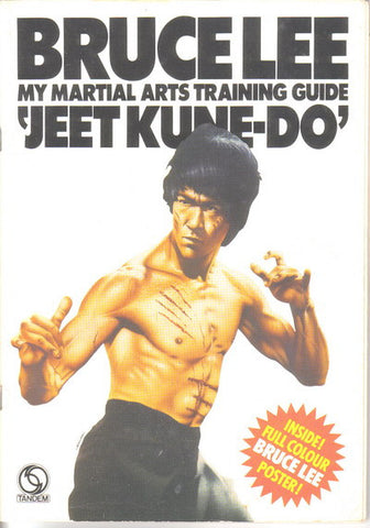 Bruce Lee My Martial Arts Training Guide Book
