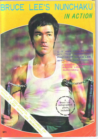 Bruce Lee Nunchaku in Action Magazine