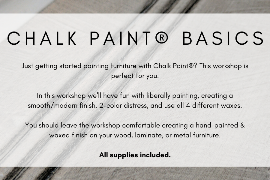 Chalk Paint® Basics