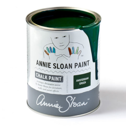 A litre of Chalk Paint® by Annie Sloan ™ in Amsterdam Green