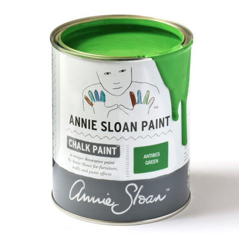 A litre of Chalk Paint® by Annie Sloan™ in Antibes Green