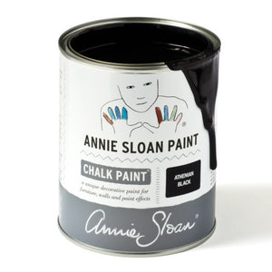 A litre of Chalk Paint® by Annie Sloan™ in Athenian Black