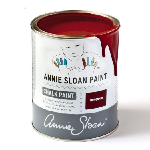 A litre of Chalk Paint® by Annie Sloan ™ in Burgundy
